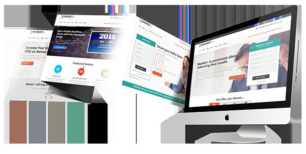 WordPress theme Eklipse Software Responsive WordPress theme (Software)