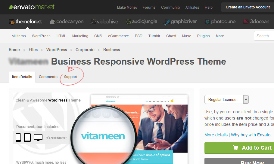 Marketplus Marketing Responsive WordPress Theme - 1